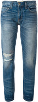 Current/Elliott The Selvedge Fling jeans - women - Cotton/Polyester/Spandex/Elastane - 24