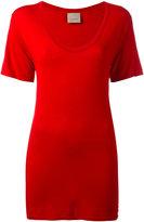 Laneus fitted T-shirt - women - Polyamide/Viscose - XS