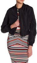 Romeo & Juliet Couture Ribbed Bomber Jacket