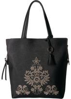 Badgley Mischka Cage Tote Tote Handbags