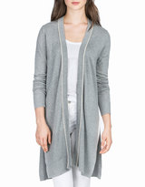 Neiman Marcus Side-Slit Relaxed Duster, Nickel