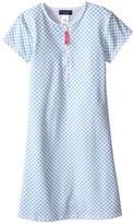 Toobydoo Miss Dot Short Sleeve Surf Dress (Infant/Toddler/Little Kids/Big Kids)