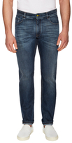 Fendi Cotton Faded Slim Fit Jeans