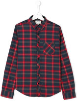 Zadig & Voltaire Kids checked shirt