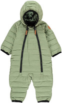 Mini Rodini Double Zip Hooded Snowsuit