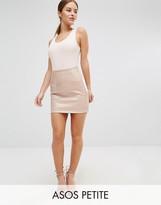 Asos Mini Skirt in Wet Look PU