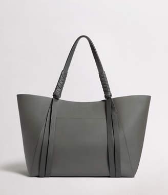 AllSaints Voltaire Leather East West Tote Bag