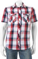 Helix Men's HelixTM Plaid Button-Down Shirt