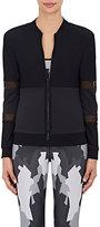 Ultracor Women's Mesh & Microfiber Performance Jacket-BLACK