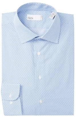 Nordstrom Rack Flower Print Trim Fit Dress Shirt