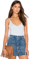 Velvet by Graham & Spencer Emmalee Cotton Slub V Neck Tank