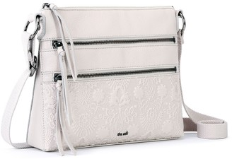 The Sak Reseda Embossed Leather Crossbody Handbag