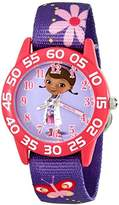 Disney Kids' W001956 Doc McStuffins Analog Display Analog Quartz Watch