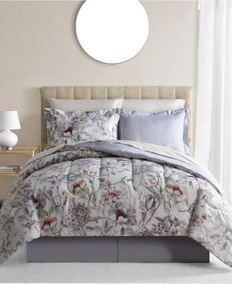 Fairfield Square Collection Evelyn 6-Pc. Reversible Twin Comforter Set Bedding