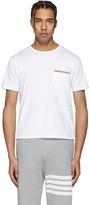 Thom Browne White Pocket T-shirt