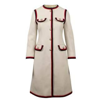 Gucci \N White Wool Coats