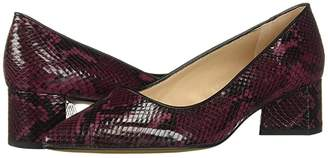 Franco Sarto Global 2 (Burgundy Snake) Women's Shoes