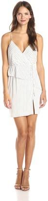 Style Stalker StyleStalker Women's Limitless Stripe Wrap Dress