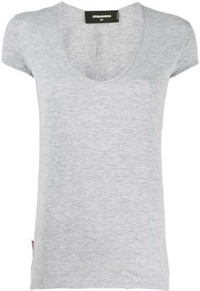 DSQUARED2 scoop neck T-shirt
