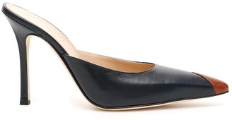 Alessandra Rich Pointed Toe Mules