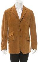 Etro Suede Three-Button Jacket