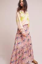 Cynthia Rowley Tiered Maxi Skirt