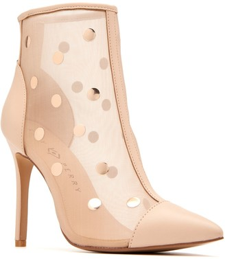 Katy Perry Mesh Cap-Toe Ankle Boots - The Jeffree