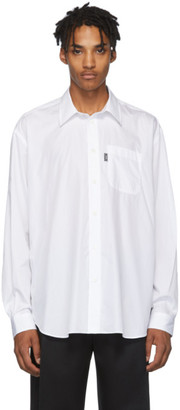 Versace White Logo Pocket Shirt