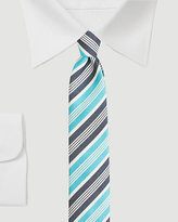 Le Château Stripe Skinny Tie