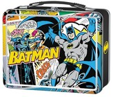 Thermos Metal Lunch Kit - Batman (Red)