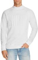 Soulland Sjevy Mock Neck Embossed Logo Sweatshirt