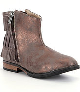 Kenneth Cole Reaction Kenneth Cole New York Girls' Downtown Girl 2 Fringe Booties