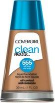 Cover Girl Clean Matte Liquid Foundation Soft Honey 30 mL