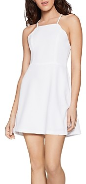 BCBGeneration Scallop Edge Skater Dress