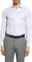 Nordstrom Extra Trim Fit Non-Iron Plaid Dress Shirt