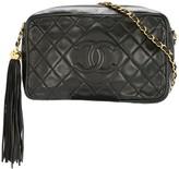 Chanel Pre Owned 1994-1996 fringe CC shoulder bag