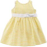 Ralph Lauren Vintage Seersucker Dress, Yellow, 9-24 Months