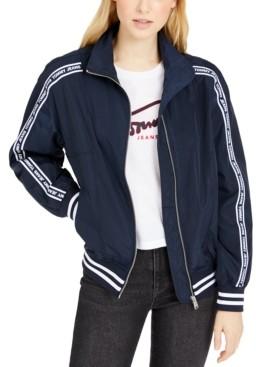 Tommy Jeans Logo Windbreaker Jacket