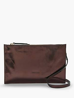 Neuville Ceremony Pouch Leather Cross Body Bag