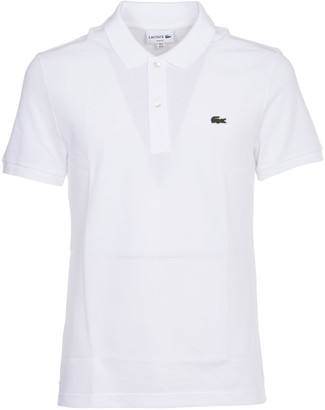 Lacoste White Polo Slim Fit