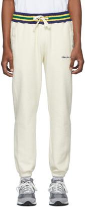 Aimé Leon Dore Off-White Reverse Fleece Ribbed Lounge Pants