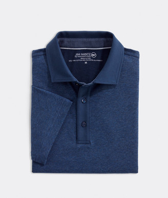 Vineyard Vines Heathered Solid Polo