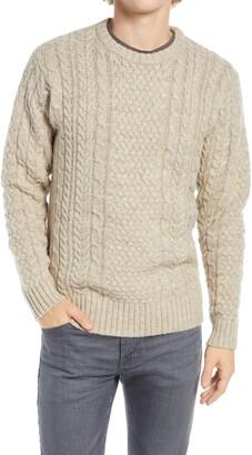 Pendleton Shetland Fisherman Sweater