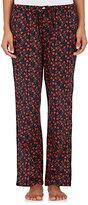 Sleepy Jones Women's Marina Rose-Print Poplin Pajama Pants-PINK