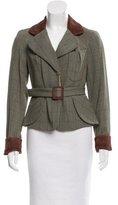 Vivienne Westwood Wool Plaid Jacket
