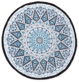 Round Terry Velour Beach Towel