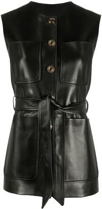 Gucci Plonge patch-pocket vest