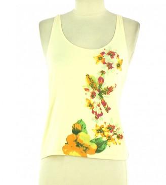 BEIGE Non Signe / Unsigned Cotton Top for Women