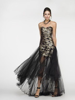 Scala 4405 Dress In Black And Gold