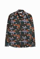 Paul & Joe Camouflage-Print Shirt